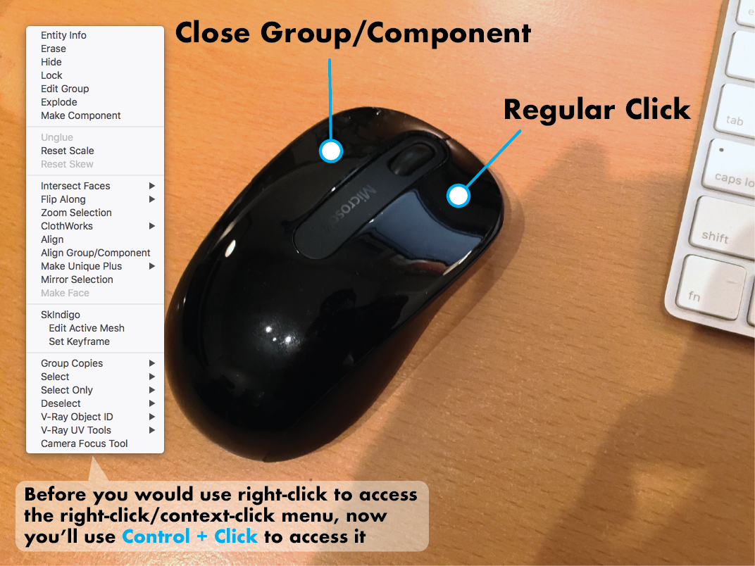 New mapping of Right-Click